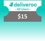 $15 Deliveroo Voucher for $13.50 from scommerce via Shopee