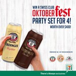 Win a Swiss Club Oktoberfest Party Set for 4 from 7-Eleven