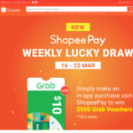 Win $500 Worth of Grab Vouchers from Shopee