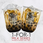 1-for-1 Promotion Signature Milk Series on Monday & Tuesday from 2pm - 6pm at JLD Dragon