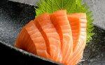 1 for 1 Salmon Sashimi Plate ($6.57) at Sakae Sushi via Fave
