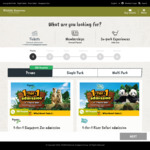 1 for 1 - River Safari, Zoo, Bird Park