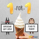 1 for 1 Cheesecake Soft Serve at Cat & The Fiddle (Selected Stores, 1pm to 6pm)