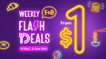 Weekly F&B Flash Deals from $1 Using M Malls App