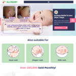 Free Sample of Milky Lotion Delivered from Alobaby