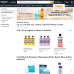 Buy 3 or More Aveeno Products for 25% off at Amazon SG