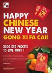 Free Pack of Red Packets with $80+ Spend or 2 Packs with $120+ Spend at Chicken Up