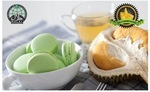 Mao Shan Wang Durian Macarons - 1 Box for $19.87 (12 Pieces) or 2 Boxes for $33.12 (24 Pieces) from Macarons.sg via Groupon