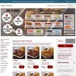 25% off First Order at Wing Zone Online