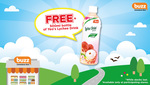Free 500mL Bottle of Yeo's Lychee Drink at Buzz Convenience Stores (Voucher) [Wednesday 5th to Sunday 9th April]