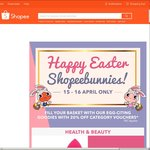 20% Off Health & Beauty, Men's & Women's Fashion, Games & Collectibles / $3 Off $20 Minimum Spend on Mobile & Gadgets at Shopee