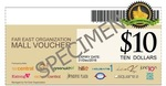10% off Far East Organisation Mall Vouchers via Groupon: $100 Voucher for $90, $300 for $270, $450 for $500 (+$3 Postage)