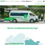4x Free GrabShuttle Plus Rides with Grab