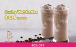 2x Icy Viet Coffee for $1 (U.P. $6.60) at Mr Bean via Fave [previously Groupon] - New Fave Users