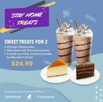 Sweet Treats for 2 at $24.90 from Coffee Bean