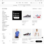 Buy 2 Get 20% off, Buy 3 Get 30% off, Buy 4 Get 40% off at Nike
