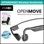 Free Power Bank When You Purchase Aftershokz OpenMove Bone Conduction Headphones from Shopee