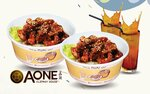2x Marmite Pork Cubes Rice Bowl & 2x Iced Lemon Tea (Takeaway) for $11.90 (U.P. $24) at A-One Claypot House via Fave