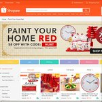 $8 Off at Shopee (Min Spend $28) in Home & Living Category