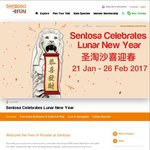 Free Sentosa Island Admission & Cable Car Ride for Those Born in The Year of The Rooster