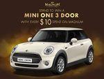 Win a Mini One 3 Door Car from Magnum