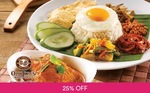 $20 Dining Voucher at Old Town White Coffee for $15 Via Fave by Groupon