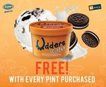 Buy a 16oz Pint of Udders Ice Cream, Get A Cookies & Cream Cup Free at Cheers/FairPrice Xpress