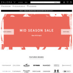 $18 off ($100 Minimum Spend) at Zalora