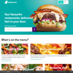 30% Cashback on All Deliveroo Orders with Singtel Dash