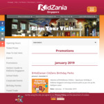 25% off Kidzania Tickets on 8-9 August with Code