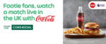 $4 off Coca-Cola No Sugar Bundle Meals at Pastamania, Maki-San, Wing Stop, Domino's & More via GrabFood