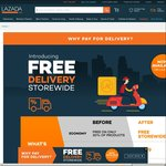 Free Economy Delivery Storewide at Lazada (Ongoing)