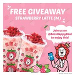 Free Strawberry Latte from LiHO (Telegram Required, Orchard Gateway)