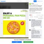 Free Personal Pan Pizza from Pizza Hut (StarHub Rewards)
