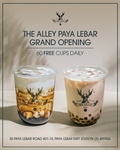 Free Brown Sugar Deerioca Fresh Milk Tea or Royal 9 Milk Tea with Pearl's at The Alley (Paya Lebar, Instagram Required) 