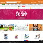 $5 off at Guardian ($40 Minimum Spend)