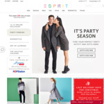 Esprit 12.12 - 40% off Regular Priced Items + 20% off 2 Sale Items