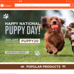 20% off Pets Category at Shopee