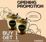 1 for 1 FOMO Coffee at Fangko Coffee