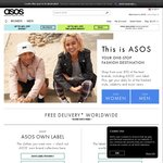 18% off Everything at ASOS