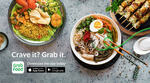 $5 off ($25 Min Spend) at GrabFood [UOB Cards]