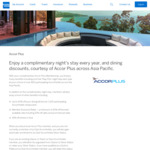 Free Accor Plus Membership with Hotel Stay (Worth S$408) with the American Express Singapore Airlines Business Credit Card