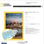 National Geographic Magazine Discount (SAFRA) 1 Yr $54 (Normally $110.40)
