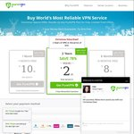 PureVPN's Christmas Offer - 2 Months USD $10.95 (~SGD $16), 1 Year USD $54  (~SGD $78), 2 Years USD $59 (~SGD $85)