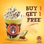 1 for 1 Frappe Beverages at J.CO Donuts & Coffee (Tuesday 28th February, 3pm to 8pm)