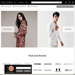 20% off Sitewide at Zalora ($120 Minimum Spend)