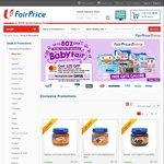 $25 off with $200 Spend on MasterCard at NTUC Fairprice Baby Fair Online/App