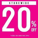 20% off Storewide at Sasa