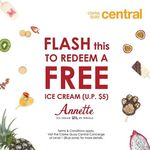 Free Ice Cream Every Weekend from Annette (Clarke Quay Central)