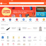 10% off Sitewide at Shopee (UOB Cards)